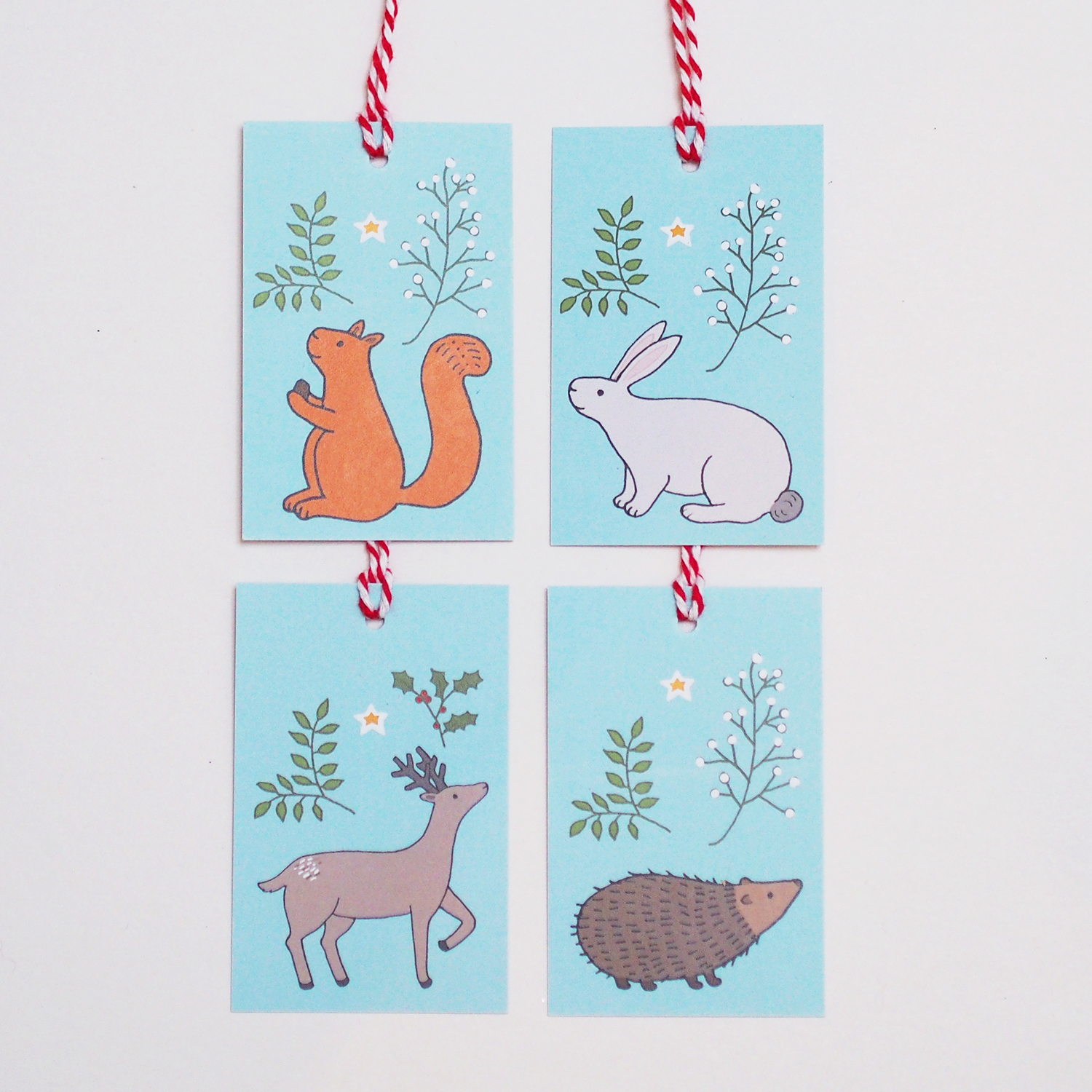Winter Woodland Gift Tags