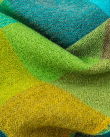 Green Fields Merino Scarf by Avoca