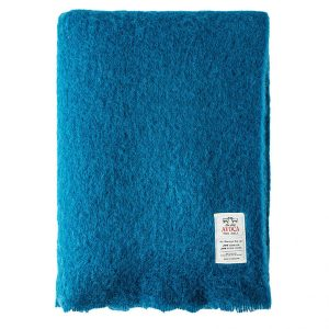Jade Mohair Throw by Avoca