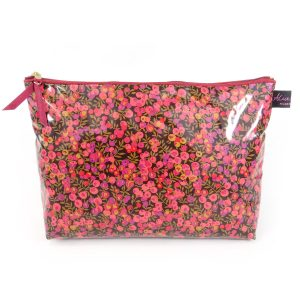 Wiltshire Purple Liberty Print Washbag