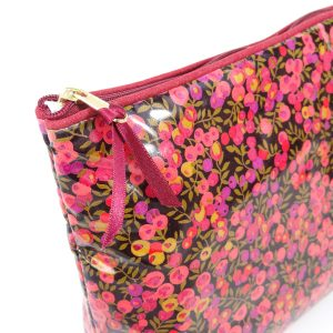 Liberty Print Washbag in Wiltshire Purple