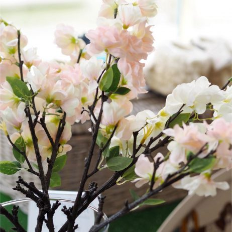 Apple Blossom Silk Flowers
