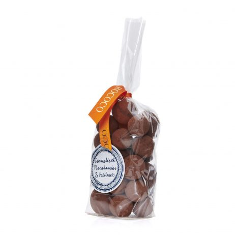 Caramelised Hazelnuts and Macadamia Nuts