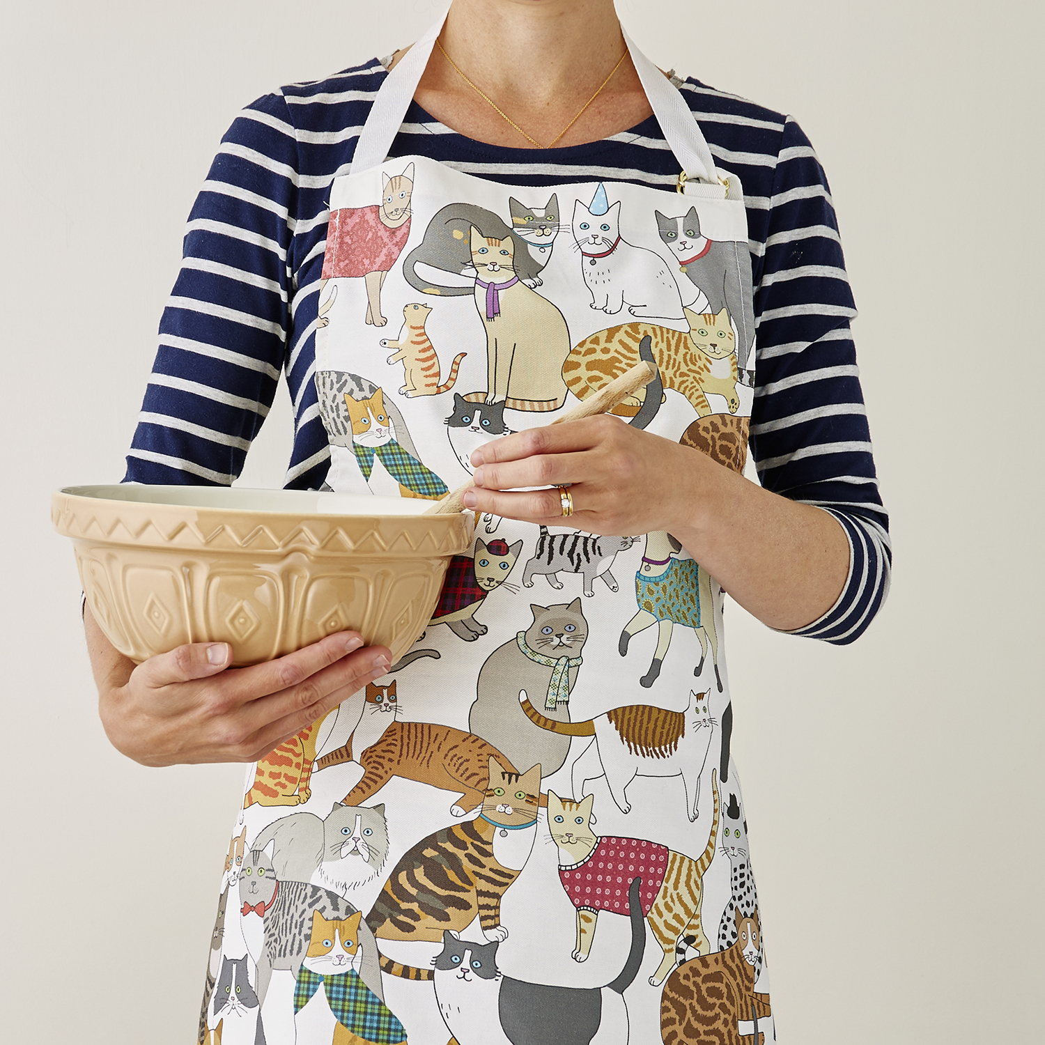 Cradle of Crafty Cats Apron