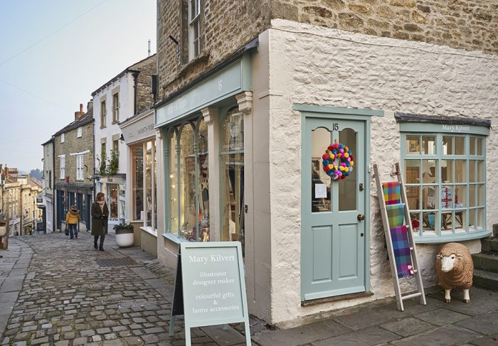 Mary Kilvert Shop in Frome, Somerset