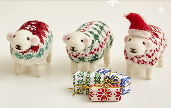 Christmas Sheep by Mary Kilvert