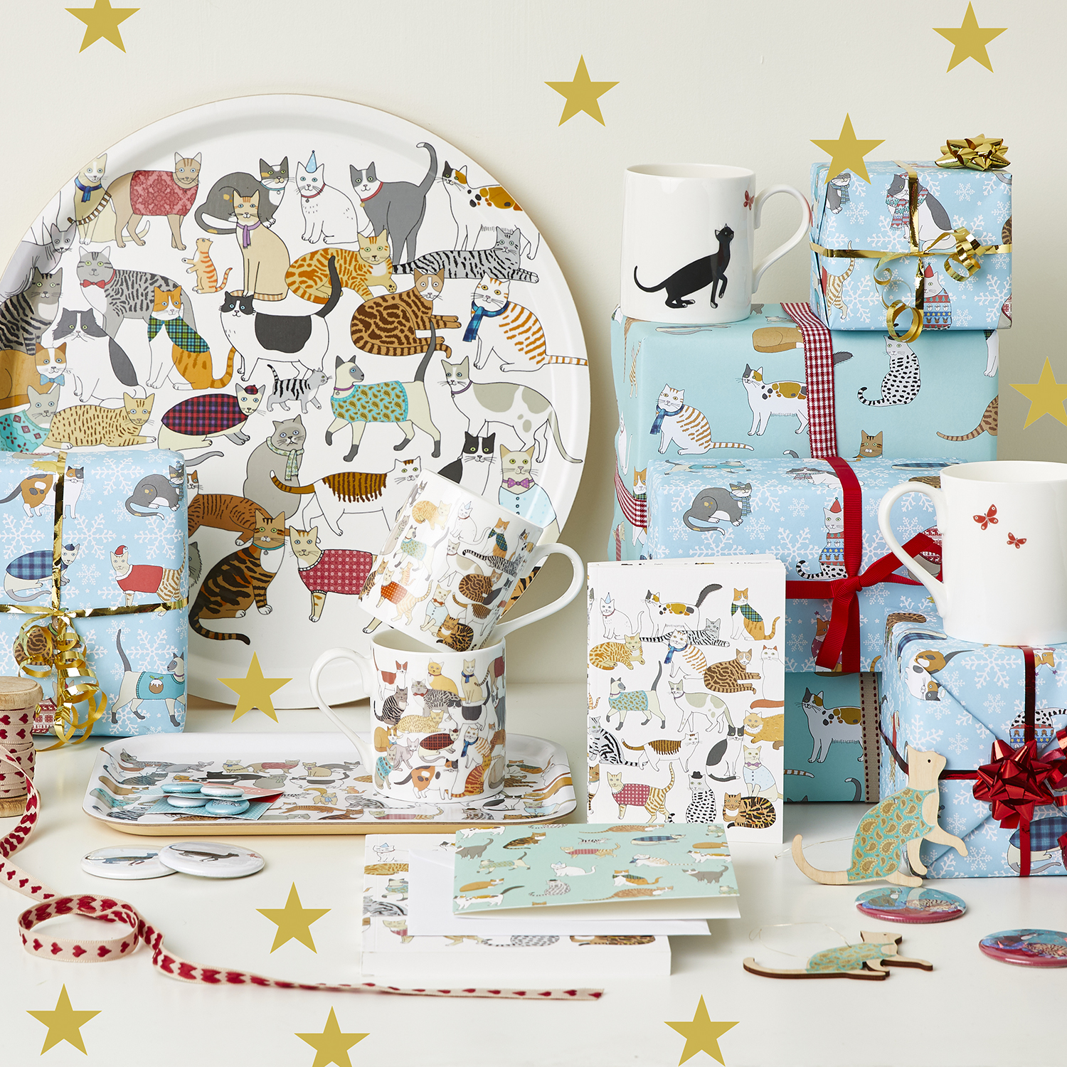 Cat Lovers - Cat Homewares by Mary Kilvert