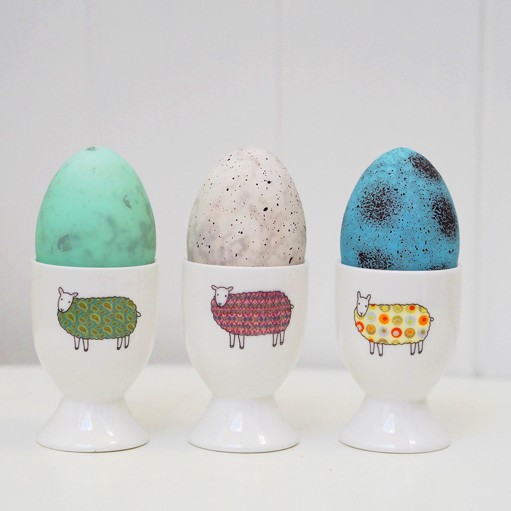 Colourful Sheep Egg Cups