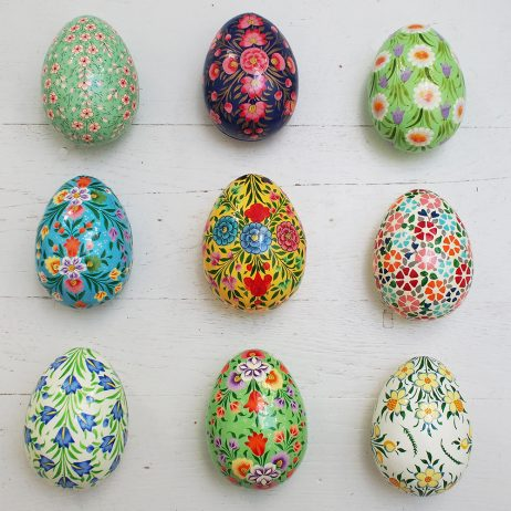 Medium Hand Painted Egg Boxes