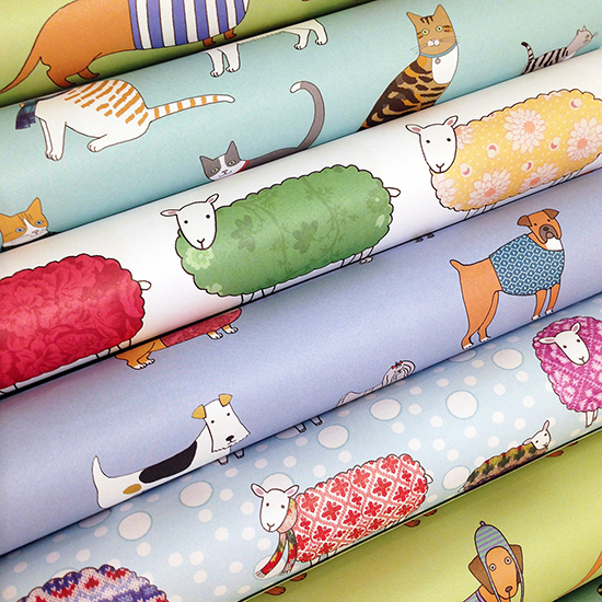Mary Kilvert Gift Wrap