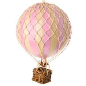 Medium Pink Hot Air Balloon Model