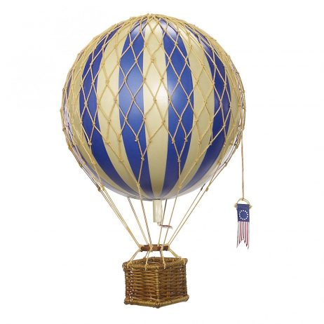 Medium Blue Hot Air Balloon Model