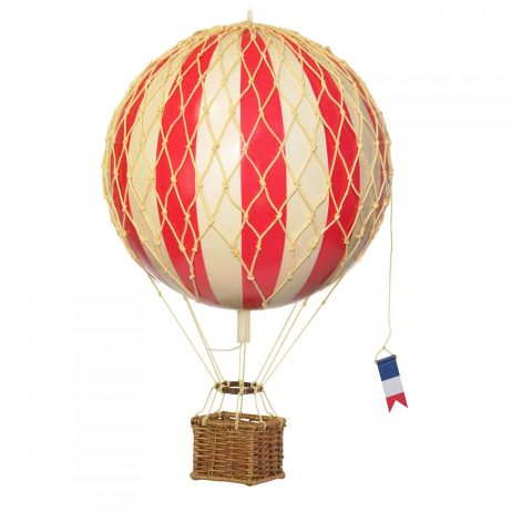 Medium Red Hot Air Balloon Model