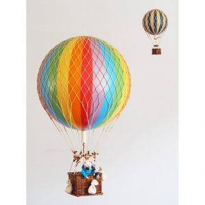 Large Rainbow Hot Air Balloon Model
