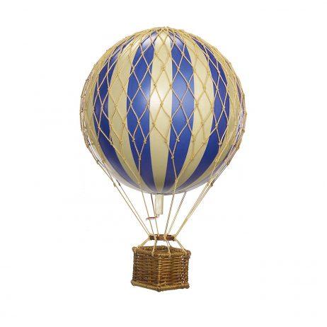 Small Blue Hot Air Balloon Model