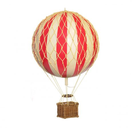 Small Red Hot Air Balloon Model