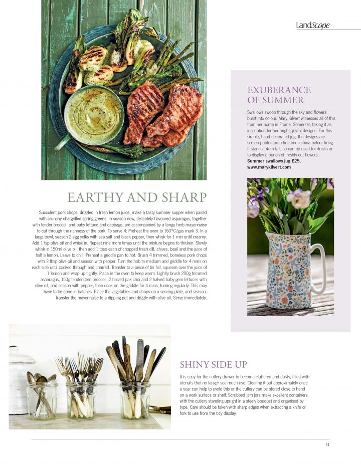 In the Kitchen Feature - Landlove Magazine