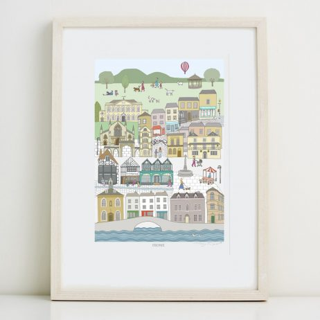 Frome Fine Art Print by Mary Kilvert