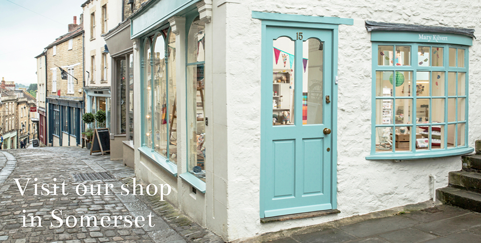 Mary Kilvert - Visit Our Shop in Somerset