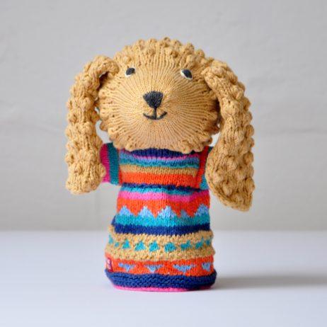 Poodle Cotton Hand Puppet