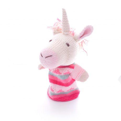 Unicorn Cotton Hand Puppet
