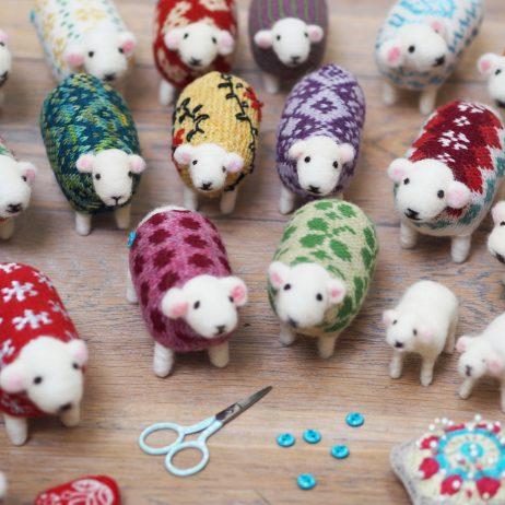 Festive Sheep Workshop at Mary Kivert Shop and Studio