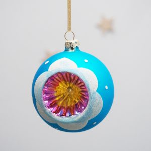 Concave Glass Bauble Decoration