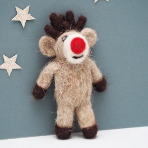 Felt Rudolf Decoration