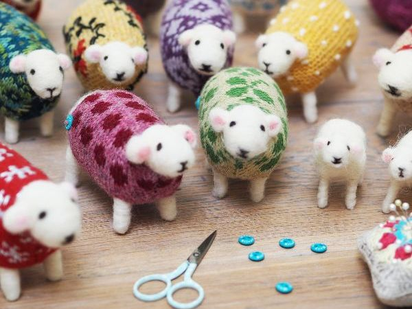 Sheep Needle Felting Workshop
