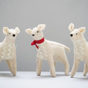 Handmade Lace Deer