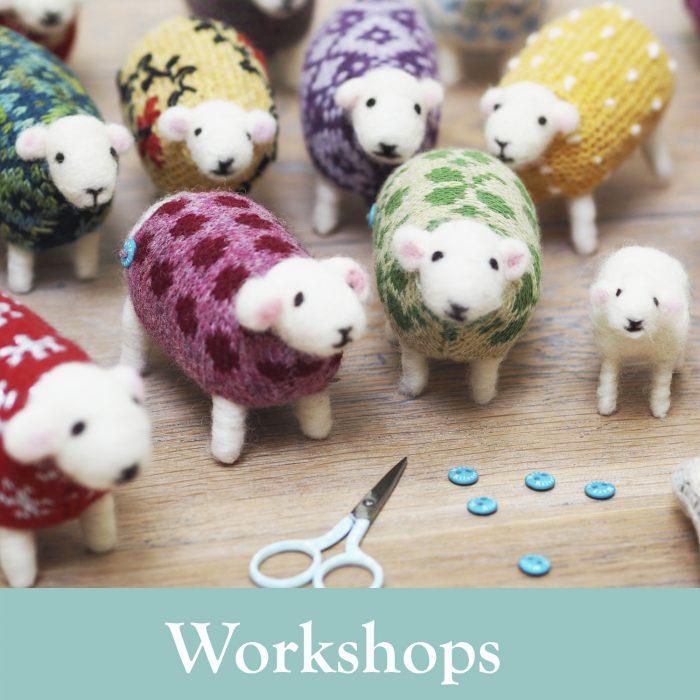 Felted Workshops at Mary Kilvert