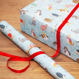Christmas Cats Gift Wrap
