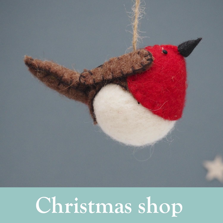Christmas Shop - home page