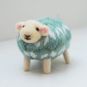 Snowdrop Felted Sheep