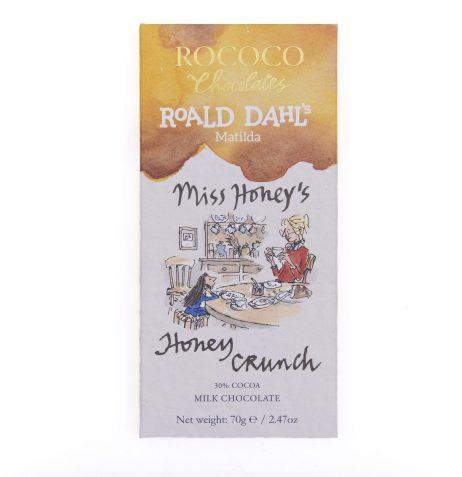 Miss Honey's Honey Crunch Milk Chocolate Bar