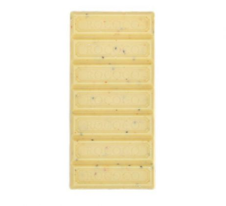 James' Scrumptious Peach White Chocolate Bar