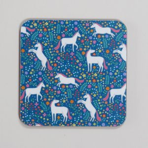 Unicorn Coaster by Mary Kilvert