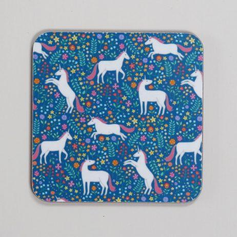 Unicorn Coaster by Mary Kilvert