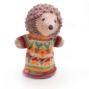 Hedgehog Cotton Hand Puppet