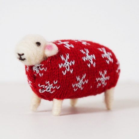 Star Felted Sheep by Mary Kilvert