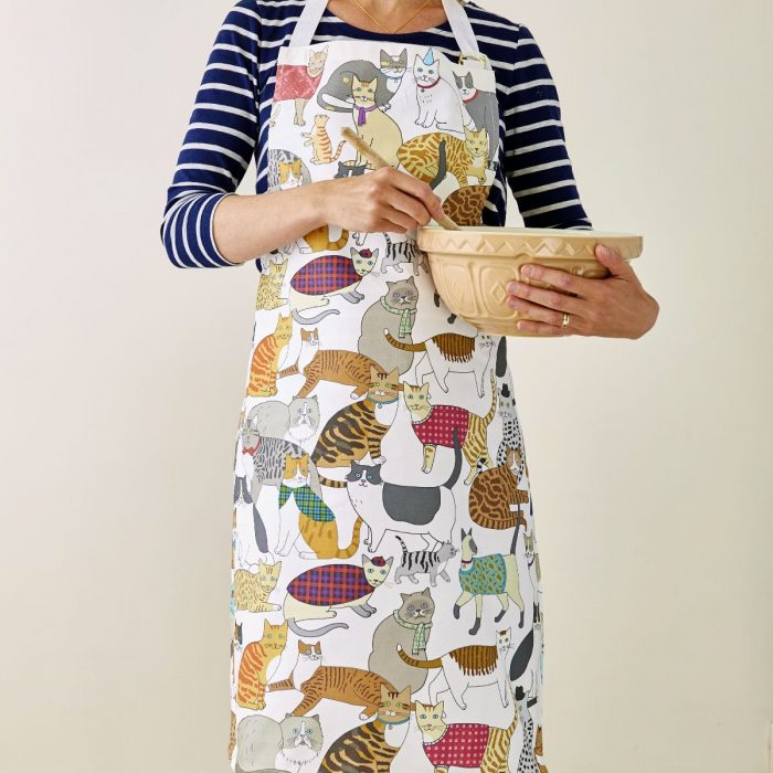 Crafty Cats Apron by Mary Kilvert
