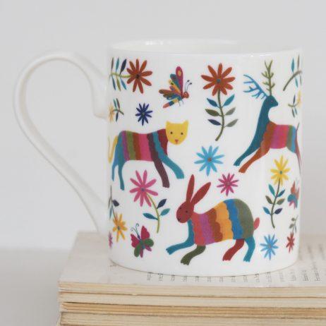 Otomi Animals Mug by Mary Kilvert