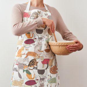 Crafty Cats Apron - Mary Kilvert