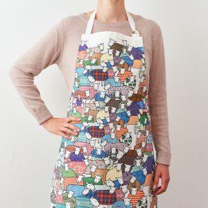 Colourful Sheep Apron - Mary Kilvert