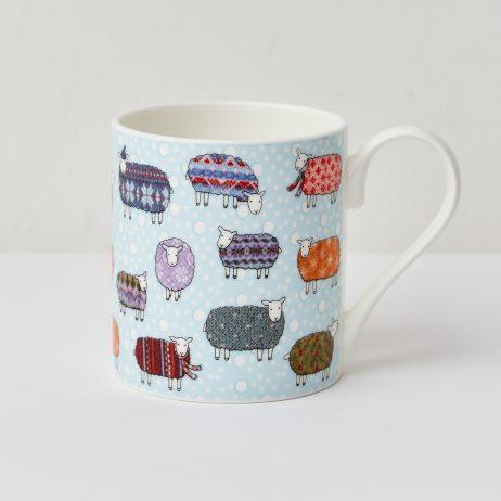 Sheep in the Snow Mug - Mary Kilvert
