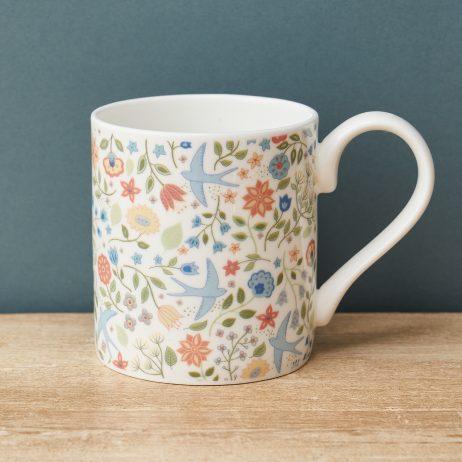 Summer Swallows Mug - Mary Kilvert