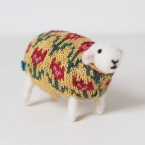 Petal Handmade Sheep by Mary Kilvert