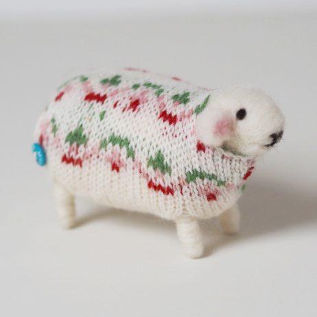 Sweet Pea Handmade Sheep by Mary Kilvert